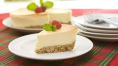 Creamy, smooth, rich and delicious cheesecake in a pre-made crust that's perfect for any occasion.