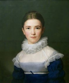 Portrait of Lina Groger, the Foster Daughter of the Artist, 1815