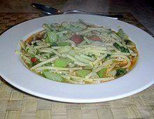 Minestra di tenerumi del nostro lettore Carmelo #sicilia #ricette #veg