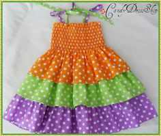 Spring dress - summer dress for girls-Frilly Ruffle dress-Size in size 24 m. to 6 years) Easter dress - Birthday dress Frilly Dresses, Lovely Dresses, Ruffle Dress, Little Girl Dresses, Girls Dresses, Toddler Outfits, Kids Outfits, Candy Dress, Purple Suits