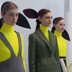 New York Fashion Week Fall 2015: Backstage Pass - Backstage at Delpozo Fall 2015-Wmag