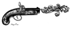 Old gun  I have this tattooed on my right arm