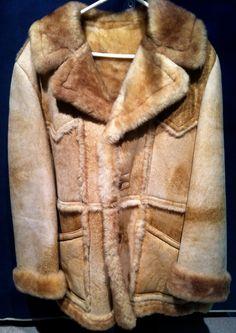 Marlboro Man RANCHER Shearling Sheepskin LAKELAND COAT Rugged ...