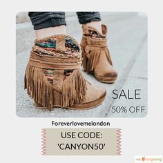 50% OFF on select products. Hurry, sale ending soon!Suede leather wedge bootie.Was £55, Now £27.50. Plus free delivery in the UK. USE CODE: 'CANYON50'. Style name: Canyon. Check out our discounted products now: https://small.bz/AAfAP0q #musthave #loveit #instacool #shop #shopping #onlineshopping #instashop #instagood #instafollow #photooftheday #picoftheday #love #OTstores #smallbiz #sale #instasale