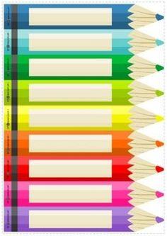 Classroom Calendar, Classroom Labels, Classroom Organisation, School Classroom, Classroom Themes, Preschool Crafts, Crafts For Kids, Frame Border Design, School Frame