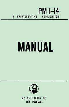 Manual, Printeresting