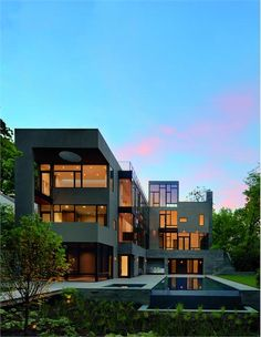 Stately Contemporary Outdoors by Robert Gurney on HomePortfolio