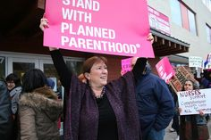 Photo by Sarah Mirk Abortion:healthcare? How did it ever become codified as such? Planned Parenthood:healthcare? Does it really serve women? Abortion: healthcare? Many politicians think so. They've thought so a long time. That's why they fund Planned Parenthood (PP). They'd fund abortions. Why don't they? Because of the the Hyde Amendment! A couple of 2016 …