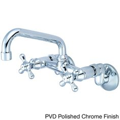 Pioneer Premiumi Series 2PM540 Double-handle Wall Mount Kitchen Faucet | Overstock.com Shopping - Great Deals on Pioneer Kitchen Faucets