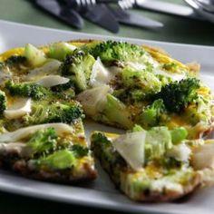 Omelet med broccoli og ost opskrift