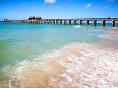 Florida's Gulf Coast is known for its beautiful beaches that offer postcard-perfect landscapes with swaying palm trees and emerald waters,… Best Beach In Florida, Florida Vacation, Florida Travel, Florida Trips, Beach Vacations, Vacation Places, Vacation Destinations, Naples Beach, Naples Florida