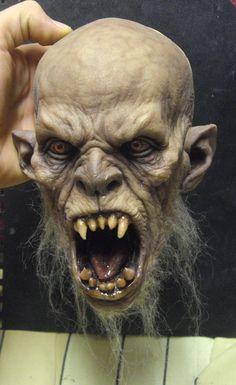 Wolf man by BOULARIS.deviantart.com on @deviantART: Arte Horror, Horror Art, Alien Creatures, Fantasy Creatures, Mascaras Halloween, Halloween Masks, Grandeur Nature, Creature Concept, 3d Prints