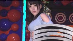 Japanese Idol Tries To Break Roof Tiles With Her Breasts