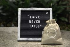 Rustic Felt Letter Board - inches Gray Felt Board, Letter Board with 340 Felt Letter Board, Felt Letters, Rustic Letters, White Letters, Love Never Fails, Rustic White, Message Board, Special Characters, Wall Hooks