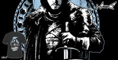 T-shirts - Design: Jon Snow - by: Inaco