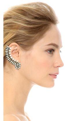 Amber Sceats Imitation Pearl Ear Crawler |