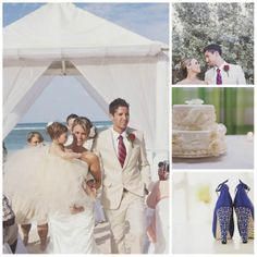 MHW's 10 Most Swoon Worthy Real Hotel Weddings of 2013 - Ocean Blue & Sand Hotel