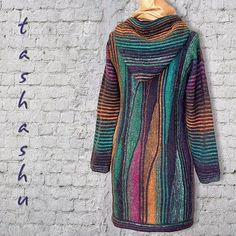 Dziana Moda: Dzianiny na drutach inaczej - TACHASHU