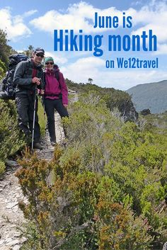 Want to get inspired about the most amazing hikes in the world? Know about the best outdoor gear? What to pack and what food to bring on multiday hikes? June is hiking month on We12travel so follow us for all you want to know about hiking!