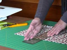 """How to cut 6 1/2"""" squares from fabric - Quilting Tips & Techniques 142"""