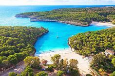 The most beautiful beaches in Mallorca from the perspective of Locals - - Most Beautiful Beaches, Beautiful Places, Places To Travel, Places To See, Travel Around The World, Around The Worlds, Vacations To Go, Portugal, Balearic Islands