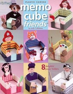 The Needlecraft Shop Angels | Memo Cube Friends, The Needlecraft Shop Home Decor…