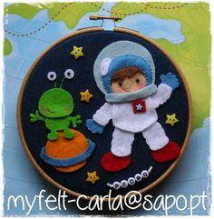astronauta feltro   my felt carla
