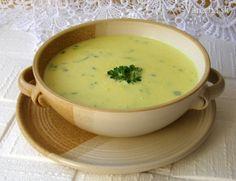 Sýrovo-žloutková polévka Cheeseburger Chowder, Cantaloupe, Soup, Fruit, Ethnic Recipes, Soups