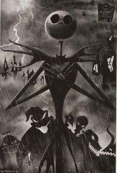 A great poster of Jack Skellington from Tim Burton's unique film The Nightmare Before Christmas! Fully licensed. Ships fast. 22x34 inches. Check out the rest of our selection of Nightmare Before Chris