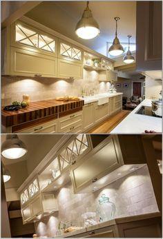 Eclairage sous l'armoire pour une touche magique dans votre cuisine! ~ Décor de Maison / Décoration Chambre