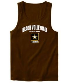 Beach Volleyball Department - U.s. Army Tank Top