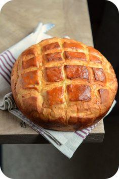 Pain brioché en cocotte – Paprikas Crackers, Biscuits, Bakery, Brunch, Food And Drink, Bread, Recipes, Croissants, Pizza