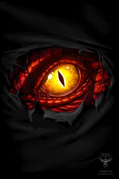 Dragon's Eye by amorphisss.deviantart.com on @DeviantArt