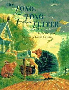 The Long, Long Letter by Elizabeth Spurr mentor texts: figurative language, alliteration, hyperbole, cute silly read aloud with tons of great word choice Reading Lessons, Reading Activities, Reading Skills, Math Lessons, Reading Resources, Reading Strategies, Writing Skills, Writing Ideas, Readers Notebook