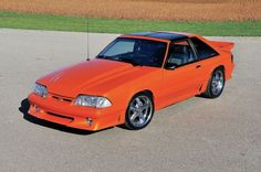 1988 Ford Mustang GT - Life Saver: Bill McClelland saved this rare '88 GT with a splash of orange flavor and a whole lot of love.