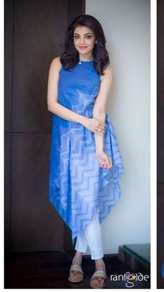 Kurta Designs Women, Blouse Designs, Indian Dresses, Indian Outfits, Stylish Dresses, Fashion Dresses, Look Short, Indian Celebrities, India Fashion