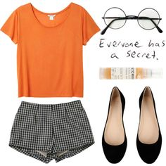 """Everyone has a secret."" by nazsefik on Polyvore"