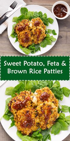 Sweet Potato, Feta & Brown Rice Patties