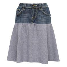 Spódnica YOU niebieska jeans - You-by-Tokarska - Spódniczki mini
