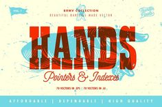 Hand Pointers & Indexes - BRMV 01    by ThunderPixels Store on @creativemarket