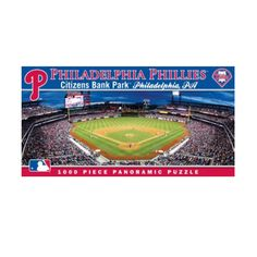 MasterPieces MLB Philadelphia Phillies Stadium Panoramic Jigsaw Puzzle, 1000-Piece ** You can get additional details at the image link.