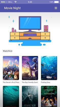 Movie Night App