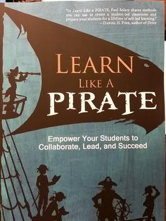 Learn Like a PIRATE:  http://www.amazon.com/Learn-Like-PIRATE-Students-Collaborate/dp/098821766X/ref=sr_1_1?s=books&ie=UTF8&qid=1426937165&sr=1-1&keywords=learn+like+a+pirate