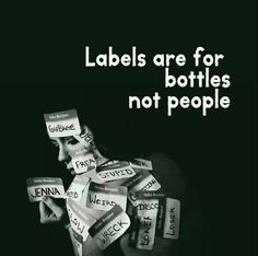 The labels we put on people are confusing and incomplete. Let's start talking to people instead. Words Can Hurt, Black Woman White Man, Black Women, Feeling Like A Failure, Quotes That Describe Me, Wise People, Think, Jeanne, Close Your Eyes