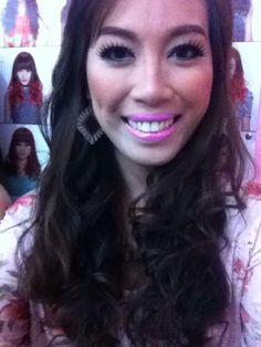 Oh yeah! Wearing make up again! :)