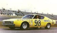 "Benny Parsons, Ford Torino Cobra ""Talladega"" 1969, ARCA Racing Series."