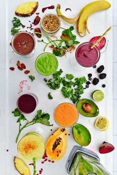 Hemsley + Hemsley: Healthy Summer Smoothie Recipes (Vogue.co.uk)