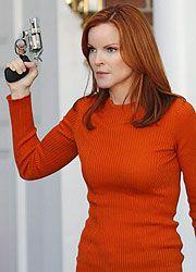 Marcia Cross as Bree Van de Kamp on Desperate Housewives