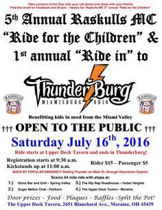 "5TH Annual Raskulls MC ""Ride for the Children"""