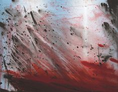 Barnaby Furnas   Untitled (Red Wave), 2008.